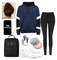"""""""outfit"""" by kwharmony on Polyvore featuring Topshop, Fjällräven, adidas Originals, Bobbi Brown Cosmetics and B&O Play"""