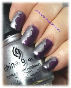 China Glaze Royal Tease & Devotion #nails #nailart