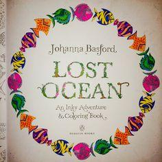 #coloringbook #lostocean #johannabasford