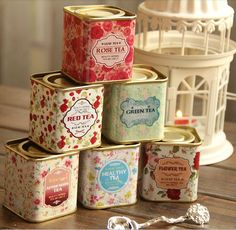 English Tea tins - empty $2.90