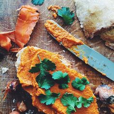 Marta Dymek  (@jadlonomia) | Cinnamon carrot dip  #saturday #vegan | Intagme - The Best Instagram Widget