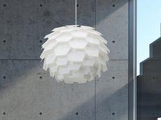 Moderna lámpara colgante – Blanco – Chandelier – SEGRE – Grande