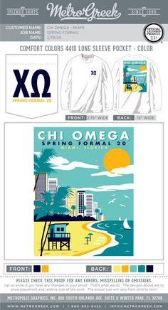 A great collection of Formal T-shirts for your Greek organization. Browse the collection for the perfect T-shirt for your Fraternity or Sorority.