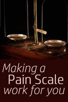Do you find reporting pain levels to medical people is often a pain in the behind? Here is a clearly explained pain scale with a visual guide to make it easier #ManagingPain #PainScale #ChronicPain