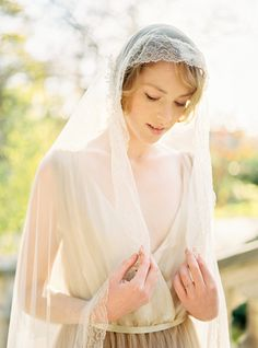 Romantic & Modern Parisian bridal shoot via Magnolia Rouge