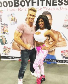 Hanging out with @jamesellisfit what a great guy.  He's such an amazing talent.#fitness #workout #snowboarding #model #fitexpo2017 #newyork #california #healthy #bodybuilding