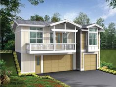 Eplans Craftsman Plan - Cozy Mother-in-Law - 850 Square Feet and 1 Bedroom from Eplans - House Plan Code HWEPL69574