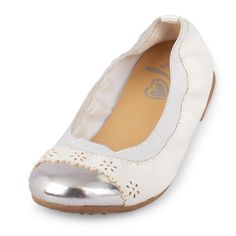 Girls Toe Cap Kayla Flat