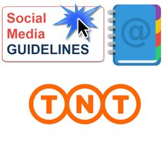 View the TNT Employee social media guidelines. Well presented graphical guideline that does a good job of defining the many areas required to inform and educate employee on social media guidelines. See the do's and dont's section.