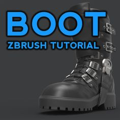 Make a fancy boot! Watch the videos and refer back to the handy breakdown image as necessary. Watch for free on my YouTube channel, or download for free here if you'd like (along with the boot .ztl): https://gumroad.com/pavlovich https://cubebrush.co/pavlovich