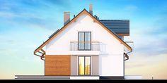 DOM.PL™ - Projekt domu DN KARMELITA BIS 2M CE - DOM PC1-47 - gotowy koszt budowy Cabin, House Styles, Home Decor, Decoration Home, Room Decor, Cabins, Cottage, Home Interior Design, Wooden Houses