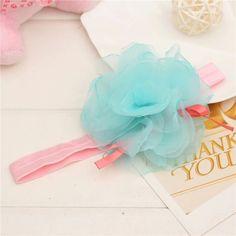 Aliexpress.com: Comprar Niños lactantes bebé girls tul flores para la cabeza de seda elástica tiara pelo de la cinta de la gasa de la flor para las vendas hairband floral de botas de niña de las flores fiable proveedores en top-handle bags