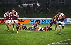 Southland Stags 34 - 23 Bay of Plenty. ITM Cup rugby action at Rugby Park, Invercargill. August 15, 2014.