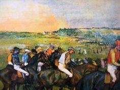 Edgar Degas (1834-1917) - Race Horses