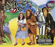 Buy The Wizard Of Oz 2013 Boxed Calendar online at Megacalendars The Wizard of Oz works perfectly as a desktop companion filled with nostalgic images and fascinating facts