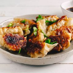 Prawn & Chive Potstickers