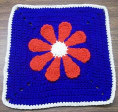 Daisy Flower Charity Square for Homemade with Love, Moore OK