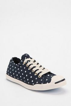 Converse Jack Purcell Polka Dot Low-Top Sneaker