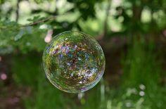 A poesia em uma bolha de sabão