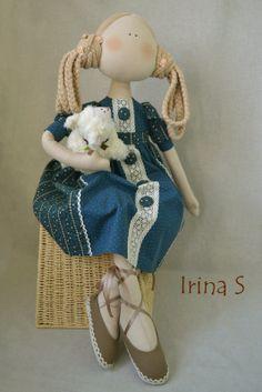 Softies, Plushies, Irina S, Stitch Doll, Doll Tutorial, Felt Crafts, Hand Stitching, Art Dolls, Doll Clothes