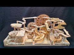 Watching marbles roll around this intricate marble machine is extremely satisfying. [VIDEO]