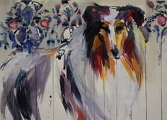 """Saatchi Art Artist Hannah Dean; Painting, """"She knew Victoria was lying. Her invite was not lost in the mail. """" #art"""