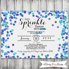 Blue baby sprinkle shower invitation blue grey girl chevron blue baby sprinkle shower invitation blue grey girl chevron umbrella printable sprinkle shower pinterest sprinkle shower baby sprinkle and filmwisefo