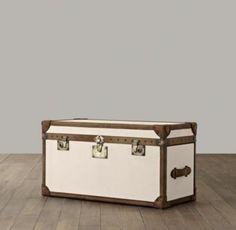 Voyager Steamer Trunk | Benches & Trunks | Restoration Hardware