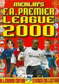 Merlin Premier League 2000 Album Cover Old School Toys, Football Stickers, Merlin, Premier League, Album Covers, Childhood Memories, Baseball Cards, Sports, Books