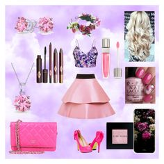 """""""Day Out - Aurora"""" by katnossa on Polyvore featuring FAUSTO PUGLISI, Ally Fashion, Rock 'N Rose, Chanel, Bling Jewelry, Lancôme and Bobbi Brown Cosmetics"""