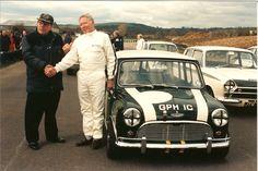 John Cooper and John Rhodes at Goodwood