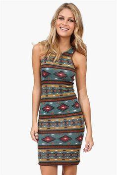 Aztec Dress.