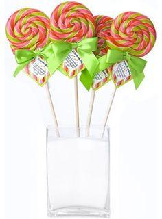 lollipops.