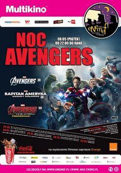 ENEMEF_Noc Avengers_PLAKAT (Kopiowanie)