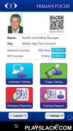 Human Focus  Android App - playslack.com ,  Human Focus is a vocational E-learning App that that enables trainees to undertake interactive video training courses anywhere and anytime. The benefits of this E-Learning App are - trainees can:- Undertake training anywhere and time that suits them- Access information at the moment of need - i.e. as they are undertaking the job / as a reference tool- Instantly share their vocational training records with 3rd partiesThis App integrates with the…