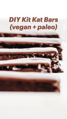 Vegan Candies, Vegan Treats, Vegan Foods, Vegan Dishes, Delicious Vegan Recipes, Healthy Dessert Recipes, Candy Recipes, Vegetarian Desserts, Healthy Vegan Desserts