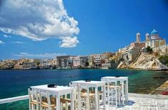 Island of Syros Hellas in photos Syros Greece, Chios, Greece Islands, Greece Travel, Mykonos, New York Skyline, Places To Go, Greek, Beautiful
