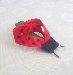 Ladybug Clippie by JensCraftCorner on Etsy, $4.00