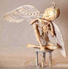 sokolova+art+dolls | Philosophical Dolls by Russian artist Nadezhda Sokolova