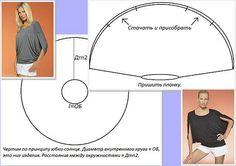 ZONA DE MANUALIDADES: Polo circular con patrones