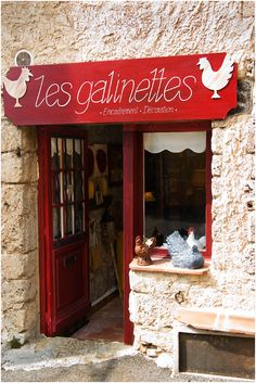 Les galinettes (Little Chickens) in Provence