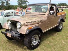 The Jeep Scrambler Jeep Scrambler, Jeep Willys, Cool Trucks, Cool Cars, Jeep Commander, Old Jeep, Jeep Truck, Vintage Cars, Monster Trucks