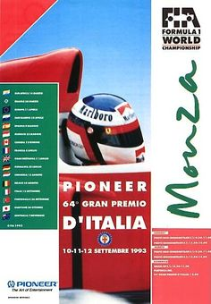 Italian Grand Prix / Autodromo di Monza / 1993