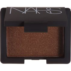 NARS Women's Shimmer Eyeshadow (165 DKK) ❤ liked on Polyvore featuring beauty products, makeup, eye makeup, eyeshadow, dark brown and nars cosmetics