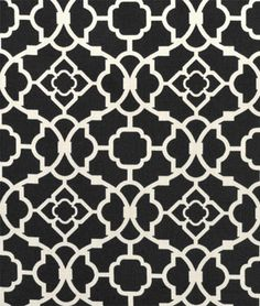 Waverly Lovely Lattice Caviar Fabric - $16 | onlinefabricstore.net