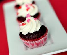 Sugar Cooking ~ Mini Red Velvet Cupcakes