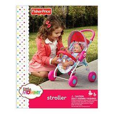 Fisher-Price Little Mommy Stroller