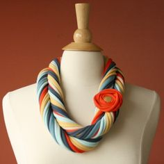 Scarf and necklace in one!