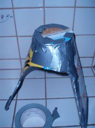 How to Make a Cardboard and Duct Tape Bonnet