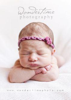 Infant shoot pose